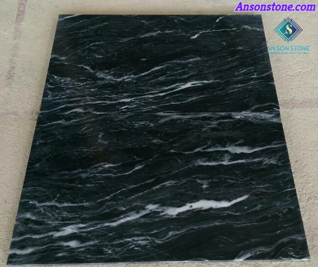 Polished Black Marble 60 60 2cm An Son Stone