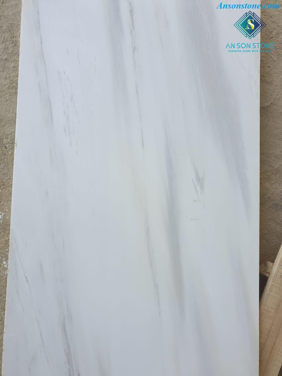 Polished Milky White Marble 30 60 2cm An Son Stone