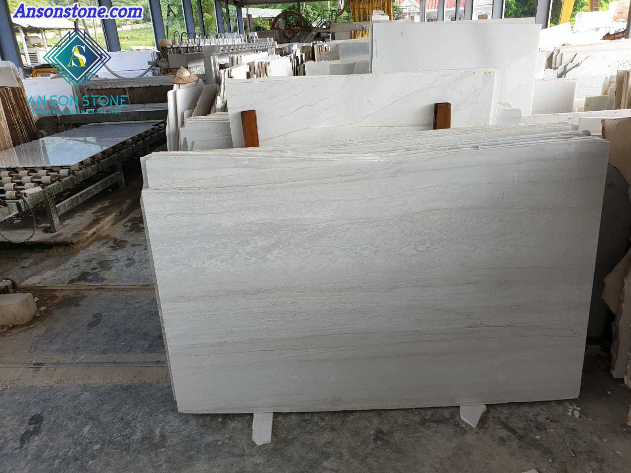 Small Wood Veins Marble Slabs An Son Stone