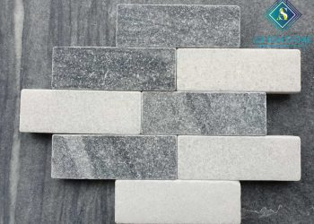 Tumble Grey & White Stone 7*20*3cm