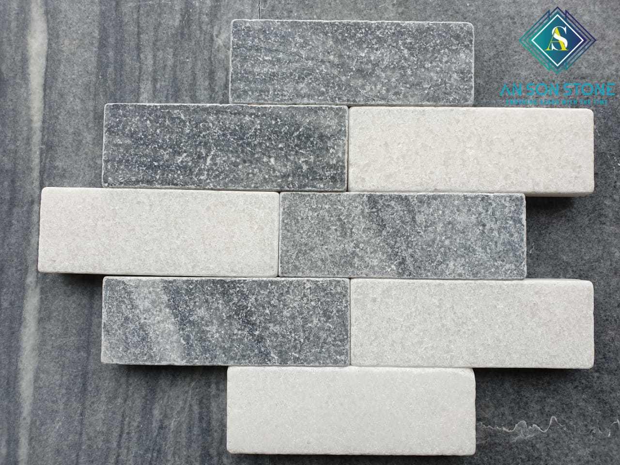 Tumble Grey & White Stone 7*20*3cm