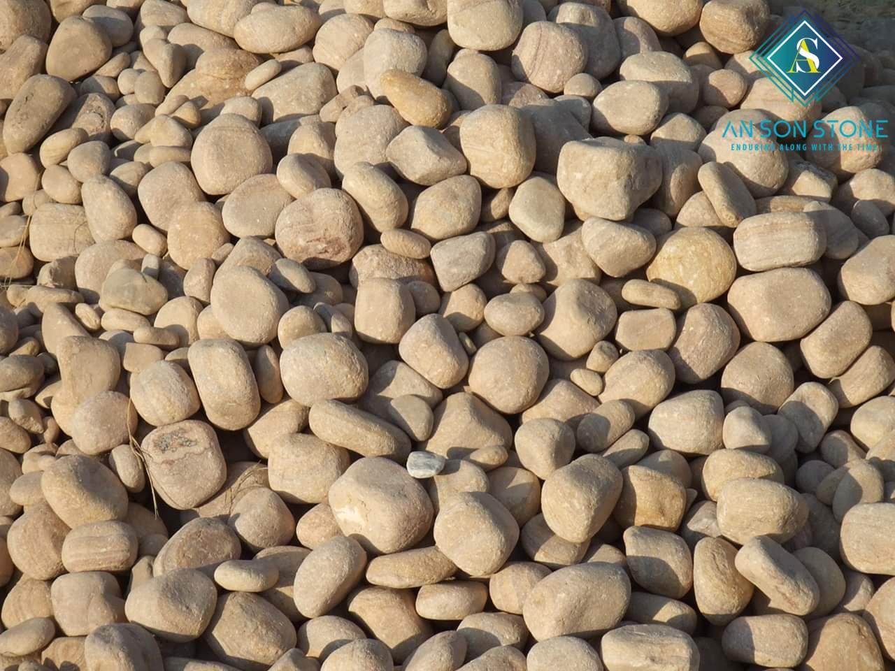 High Polished Brown Pebble