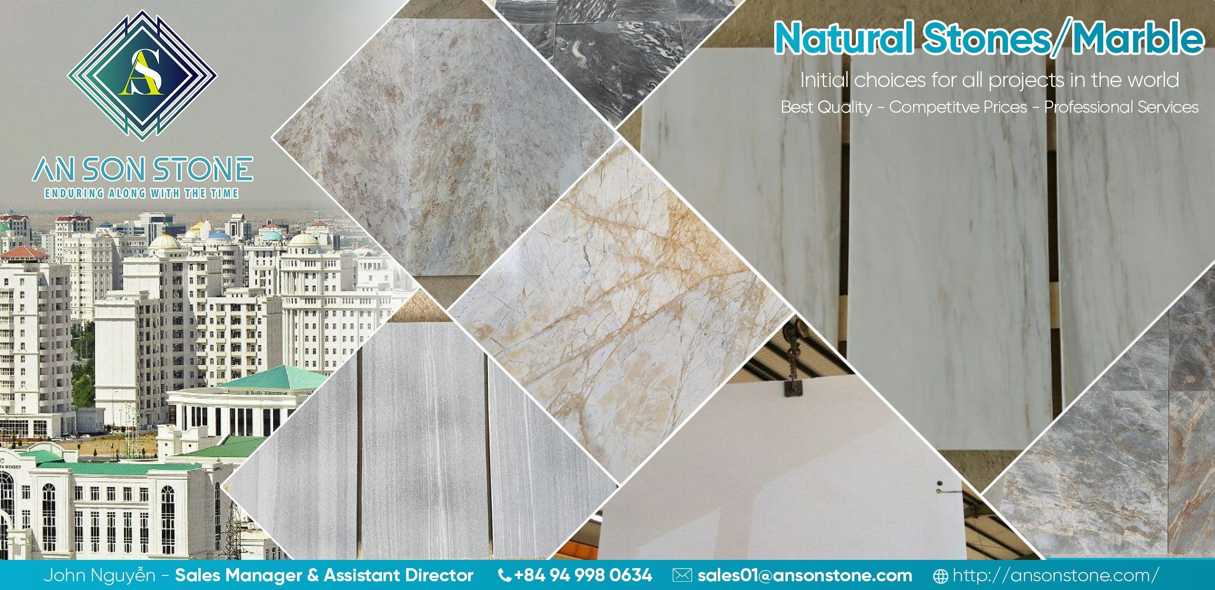 banner natural stone